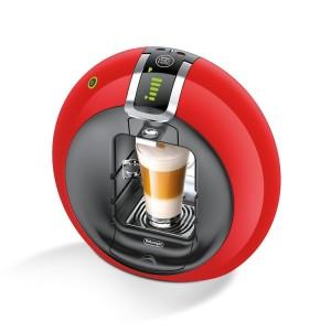 1. Rote Kaffeemaschine
