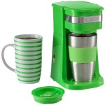 2. Kaffeemaschine Grün