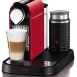 3. Rote Kaffeemaschine